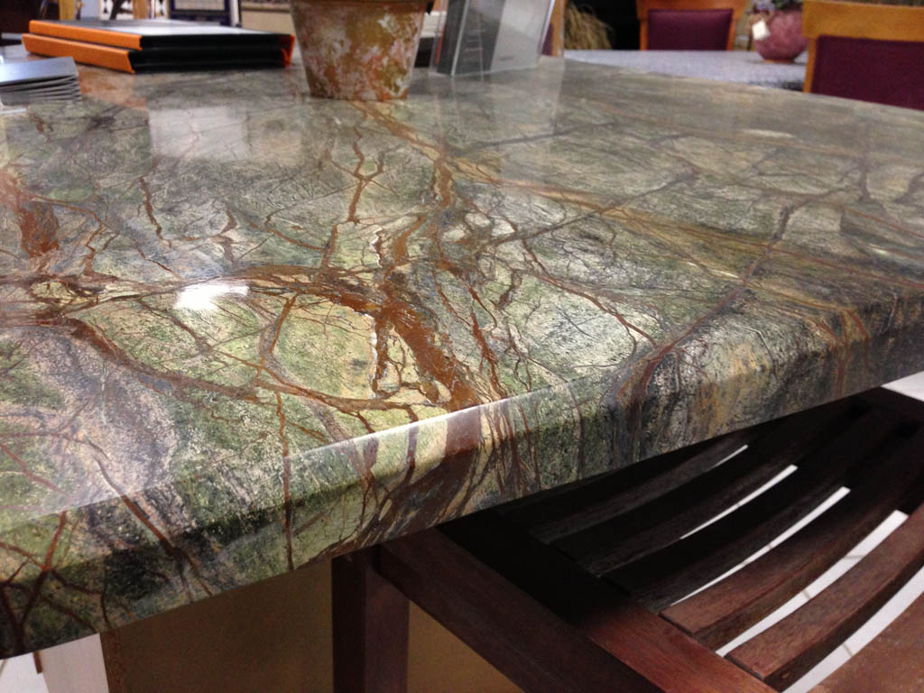 Edge treatment options mcm natural stone for 1 inch granite countertops