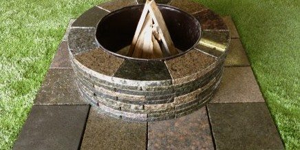 D I Y Granite Fire Pit Kit Mcm