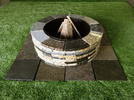 fire pit mixed - D.I.Y. GRANITE FIRE PIT KIT - MCM Natural Stone